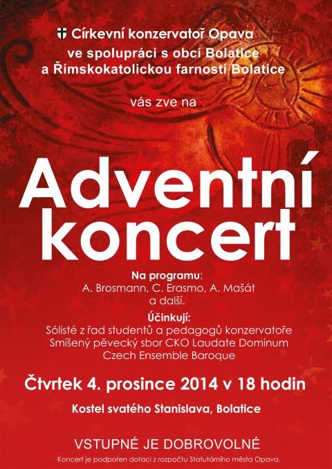 Adventní koncert 2014 - Bolatice