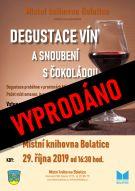 Degustace vín a snoubení s čokoládou 2