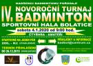 Badmintonový turnaj 1