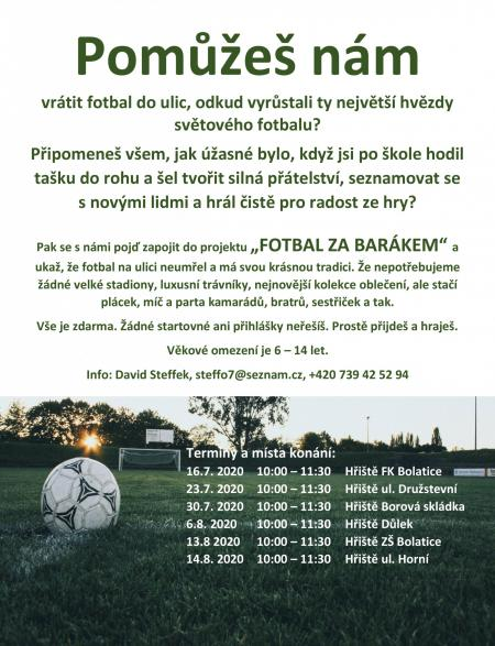 Fotbal zabarákem 1