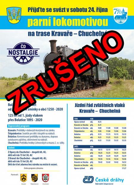 Parní lokomotiva vBolaticích! 2