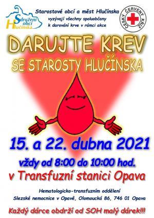 Darování krve se starosty Hlučínska 1