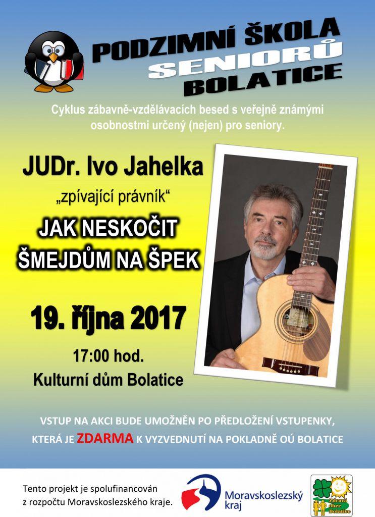 JUDr. Ivo Jahelka - Jak neskočit šmejdům na špek 1