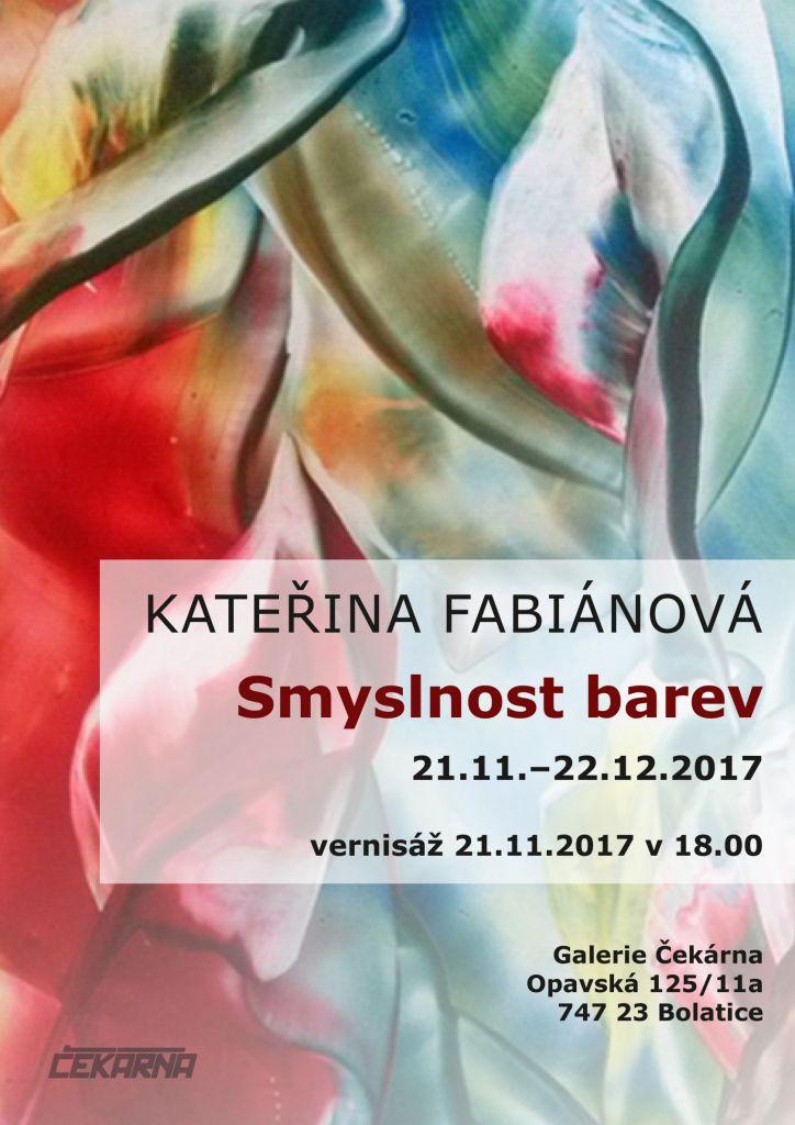 Vernisáž - Kateřina Fabiánová 1