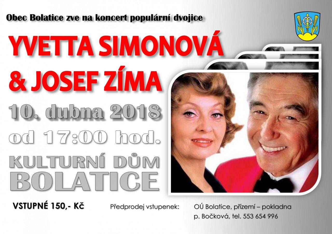 YVETTA SIMONOVÁ  &JOSEF ZÍMA 1