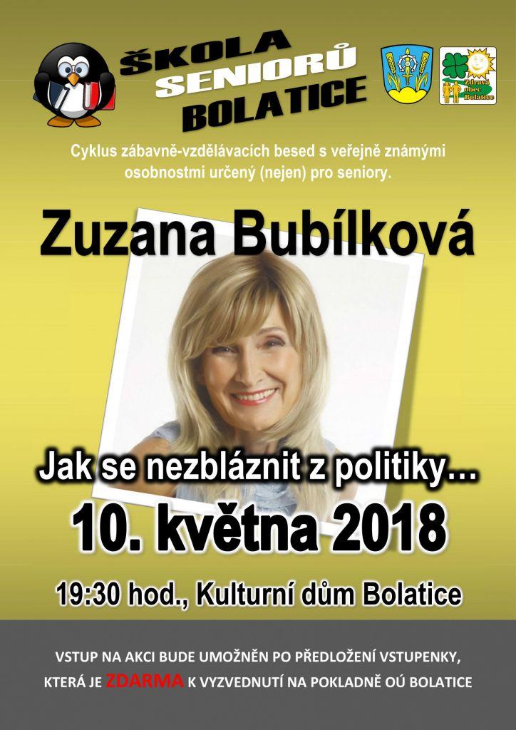 Zuzana Bubílková - Jak se nezbláznit z politiky... 1