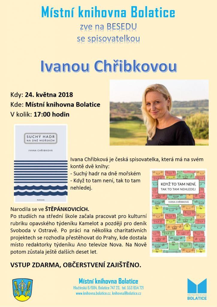Beseda - Ivana Chřibková 1