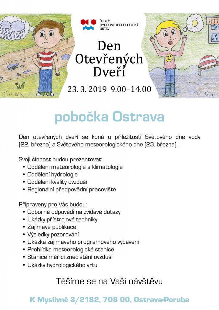 Den otevřených dveří - ČHMÚ Ostrava 1