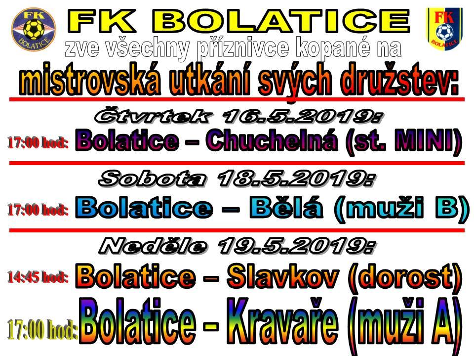 Mistrovské utkání FK Bolatice 1