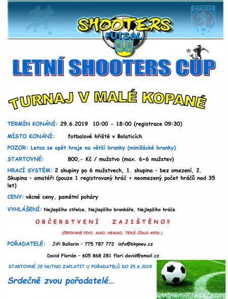 Letní Shooters CUP 1